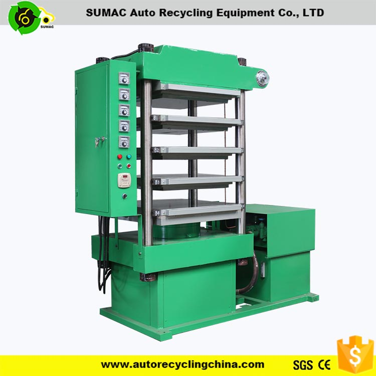 rubber tiles press machine/rubber tile vulcanizing press/rubber flooring making machine