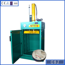 Gold supplier oil drum press machine CE approval recycling baler