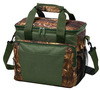 600D polyester camouflage insluated cooler lunch bag