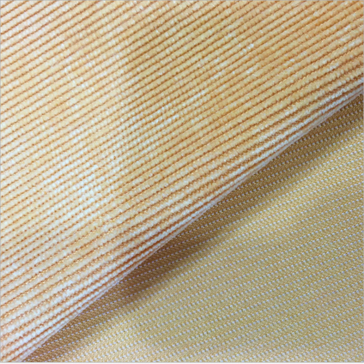 Hot selling woven dyed cotton corduroy fabric