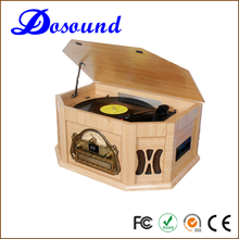 High end piano painting retro turntable cd record cassette radio player