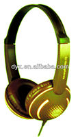 2015 Changing color computer accessories headphone with reasonable price