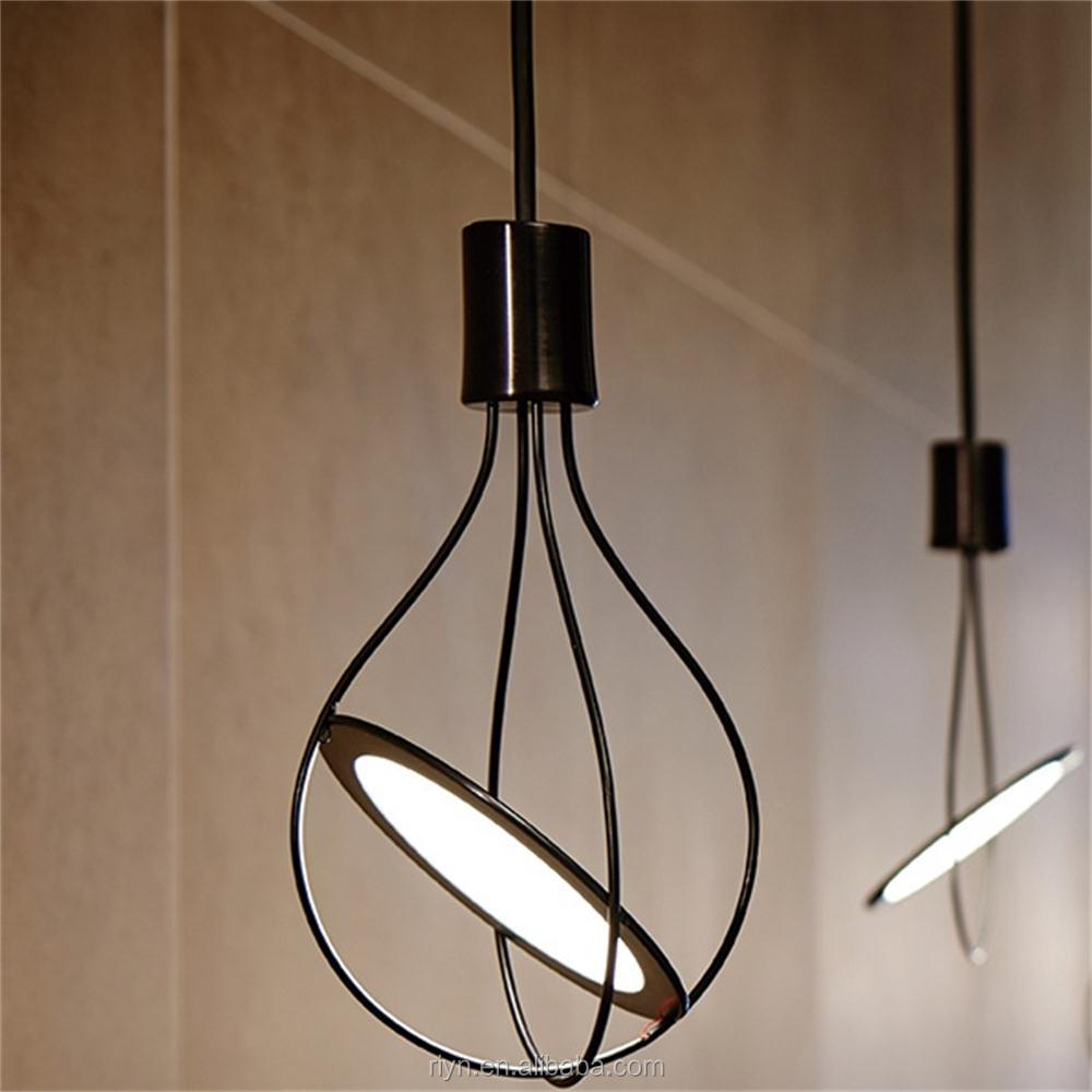 Medieval Restaurant OLED pendant lamp classical Hotel Decorative Lighting