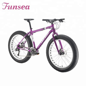 China wholesale cheap price 26inch fatbike high end adults outdoor sport snow beach cruiser bike fat tyre bicycle for men