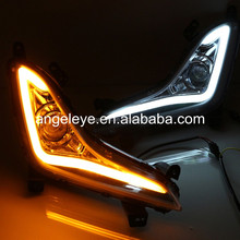 For Hyundai Elantra Avante 2014-2015 year LED Daytime Running Light LED DRL with Turning lights double color WH