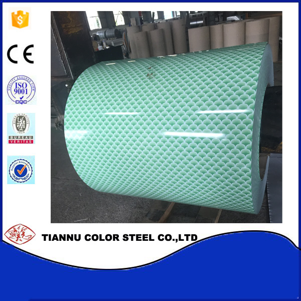 0.23mm-0.8mm Thickness 914-1250mm Width 508mm Internal dianeter Steel Coils Prepainted Galvanized Steel Coils for Construction