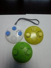 Promotional round shape waterproof cheap AM/FM portable radio