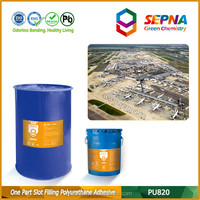 polyurethane high elasticity super sticky contraction settlement joint road pouring sealant