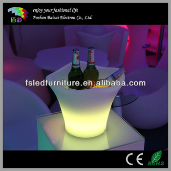 Glowing Champagne Bucket with 5L Capacity