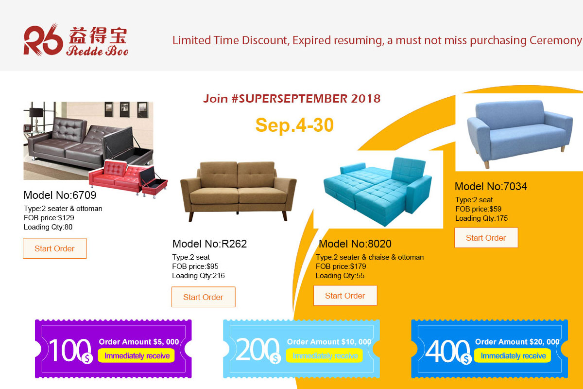 Shenzhen Redde Boo Furniture Co., Ltd.   Sofa, Bed Set