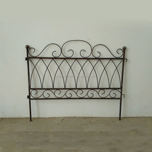 garden funiture custom wrought iron cheap fence panels metal vintage victorian lawn edging