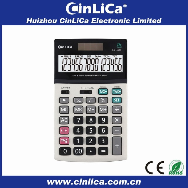 fashion calculator gifts lcd calculator watch with tax function