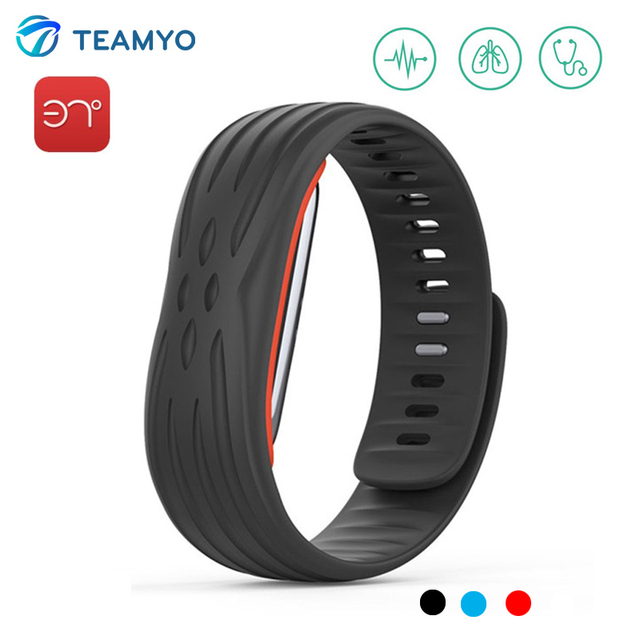 37 Degree Bluetooth Smart Band Heart Rate Monitor Blood Pressure Fitness Tracker Wristband With Passometer Sport Smart Bracelet