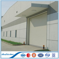 Cheap electric steel roller shutter door , Stainless steel roll up door