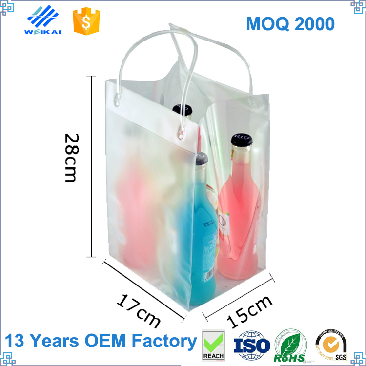 Online Shopping Customized Manufacturer 1.5L Bottle Beer Non Woven Wine Cooler Bag