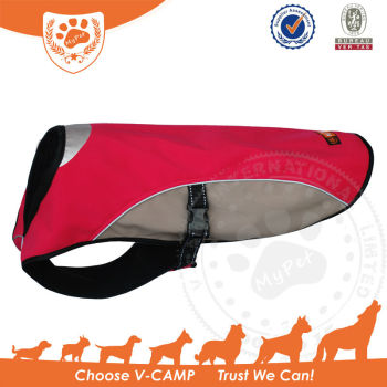 Outdoor Sport Softshell Dog Coat With Waterproof Material
