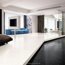 Crystal double loading galaxy black shiny floor tile