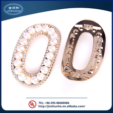 2017 factory sell rhinestone crystal shoe clips of new structure style