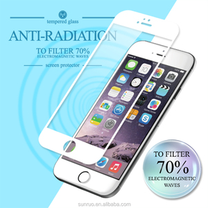 Anti EMF radiation tempered glass screen protector for iPhone 6