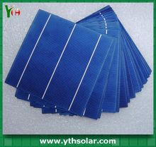 2014 high efficiency solar cell for sale high efficiency solar cell 4.64w 156x156mm for solar pannel