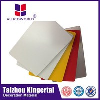 Alucoworld 4mm acp acm aluminium composite panel metal roof sheeting