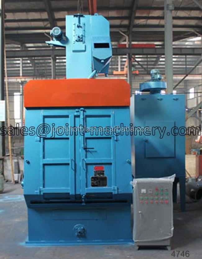 tumble belt type shot blasting machine/shot blaster