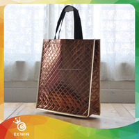Customized Blank PP Non woven Organic Shopping Cloth Bag