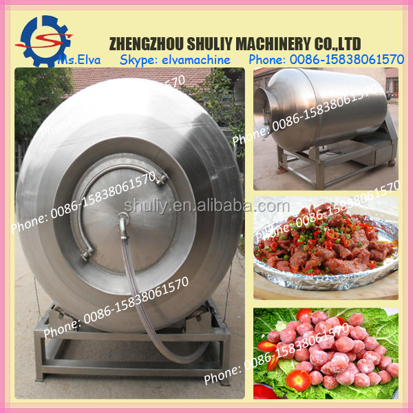3 types to choose stainless steel vacuum meat tumbler | vacuum tumbler for meat | tumbler mixer vacuum