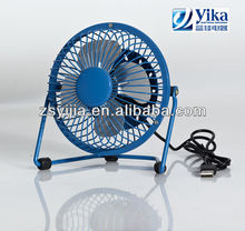 Cheapest Colorful USB mini fan with CE/CB/GS approved-12v