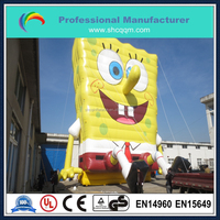49ft high inflatable character cartoon for sale/inflatable giant cartoon for advertising