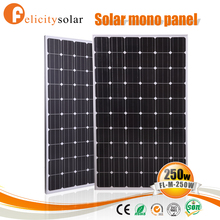 2016 new product quality assurance mono 250w bosch solar panel for Congo
