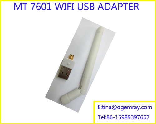 USB WiFi Mini 150Mbps Wireless LAN Network 802.11 n/g/b Adapter with Antenna 2dBi