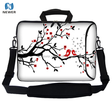 Trendy cheap cute 14 inch neoprene laptop sleeve with handle