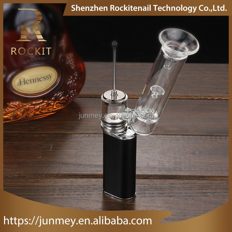 New arrival!! wax vape enail dabber e cig within 15 seconds from Rockit portable enail attachment