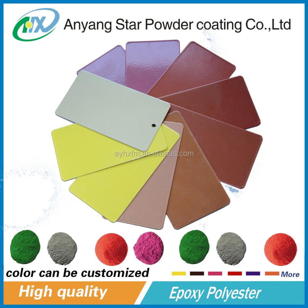 epoxy polyester powder coat paint/ powder coat oven/ thermo powder coating