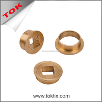 Steel Brass Square Bush Couple sintered bronze bushing