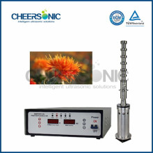 IUIP1000 ultrasonic safflower extraction equipment