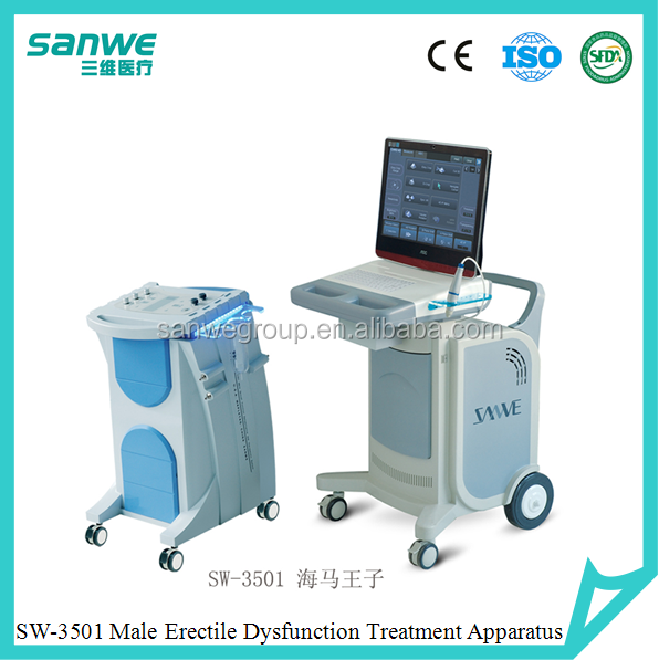 Male sexual dysfunction vacuum suction type treatment machine