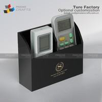 hotel rooms Menu-holders imported acrylic business card case mobile phone remote control storage Desktop box