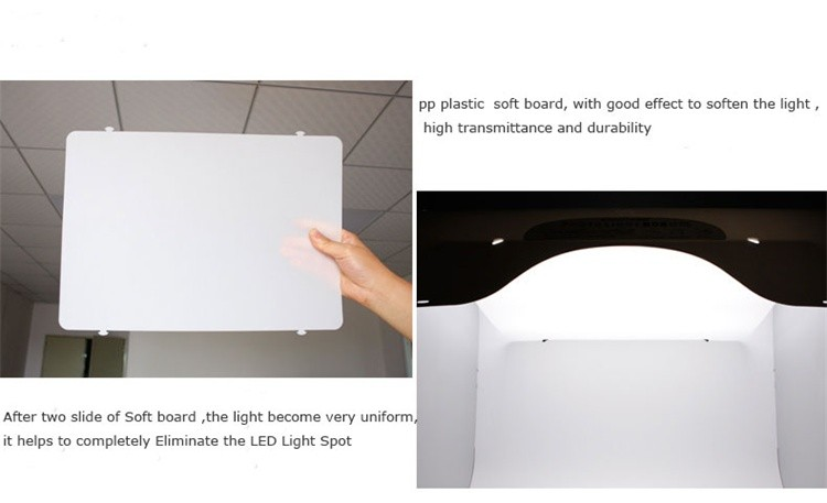 Portable Mini SANOTO Photo Studio Light Box / Photography Box for Network Photographers,Photo Tent Studio LED