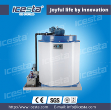 China ICESTA easy operation low noise flake icemaker with CE certificate