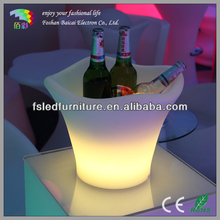 led ice bucket with stand