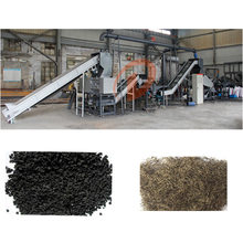 Full automatic waste tire recycling line machine manufacturer