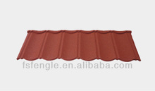 Colorful Stone-coated Metal Roofing Classic Type