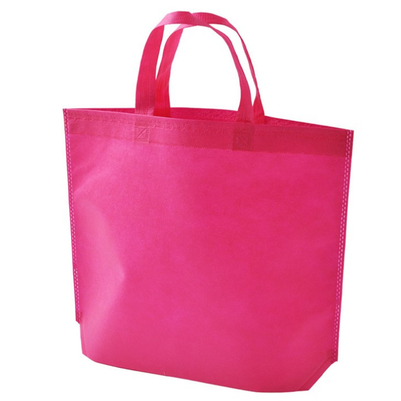 Promo custom logo recycle nonwoven shopping bag