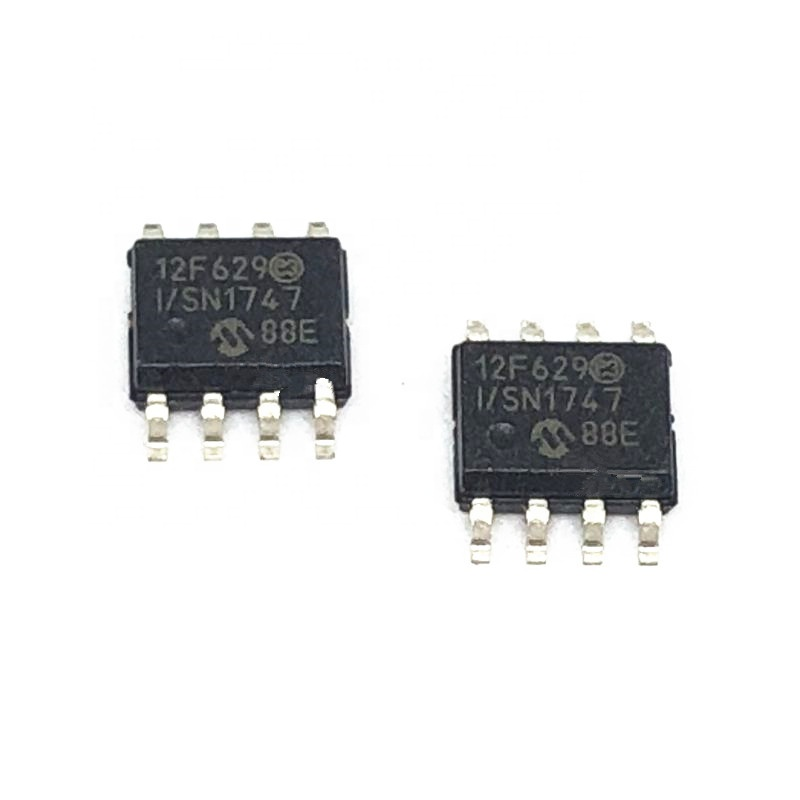 PIC12F629-I/SN Integrated Circuits (ICs) Flash-Based CMOS Microcontrollers PIC12F629