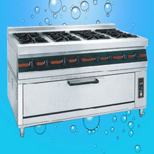 Premier cooker, general gas gas cooker, 8 burners universal gas cooker with oven