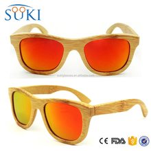 Natural black bamboo glasses custom engrave brand free logo bamboo eyewear