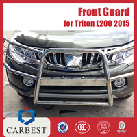 High Quality Stainless Steel 2015 Car Front Guard Auto Parts Mitsubishi Pickup Triton L200