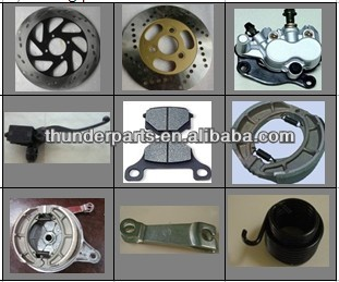 Brake parts for Haojin motorcycles